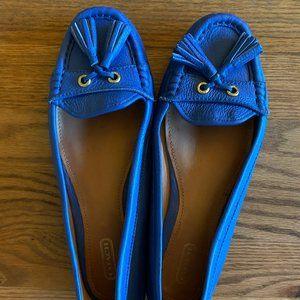 Coach Blue Loafers sz. 8.5